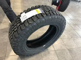 Goodyear Wrangler UltraTerrain - Toyota 4Runner Forum - Largest ...