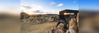 100 Desert House BLACK DESERT HOUSE BY OLLER PEJIC ARCHITECTURE California USA