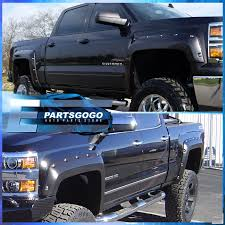 2014-2016 Silverado Pickup Paintable Pocket Rivet Style Wheel Well ... 0914 F150 Super Cab 65 Short Bed Wo Fender Flare Rocker Panel Amazoncom Putco 97295 Stainless Steel Full Trim Kit For 52017 Bushwacker Pocket Style Flares Prepainted Rough Country Wrivets 2018 Ford Matte Black 2093502 Bolton Riveted Look Flaredoor Trim Delete I Think It Turned Out Pretty Good Black Paintable Extension 1418 Silverado 1500 1518 52016 Oe Specdtuning Installation Video 1999 2006 Chevy Silverado Fender Putco 97289 Chevrolet Set 2007 Rivet 6680 Length