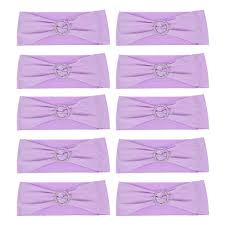 10PCS Wedding Decorations Elastic Spandex Chair Cover Sashes Bows Elastic  Chair Bands With Buckle Slider Sashes Bows 7 Colors (Purple) Unique Bargains Stretchy Spandex Ruffled Skirt Short Ding Room Chair Covers Washable Removable Seats Protector Slipcovers For Wedding Party Purple Colour Lycra Universal Cover Decoration On Sale Banquet Arch Front Open To Buy Rent Table Linen By Linens Spandex Ruffled Shirred Cadburys Purple Spandex Chair Cover 4 Pcs Dark Stretch Cinglenspandex Chair Wedding Covers Ding 160gsm Lavender With Foot Pockets Lacys Rentals Denver Colorado Hi Bar Cloth