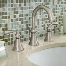 Moen Bathroom Sink Faucets by Moen Faucets Sinks U0026 Showers At Lowe U0027s