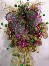 Burlap Mardi Gras Door Decorations by 577 Best Mardi Gras Images On Pinterest Mardi Gras Wreath