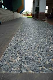 Sliced Pebble Tiles Uk by Valuable Pebble Tile Tsrieb Com