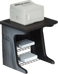 Iceberg Enterprises Aspira Printer Stand Black