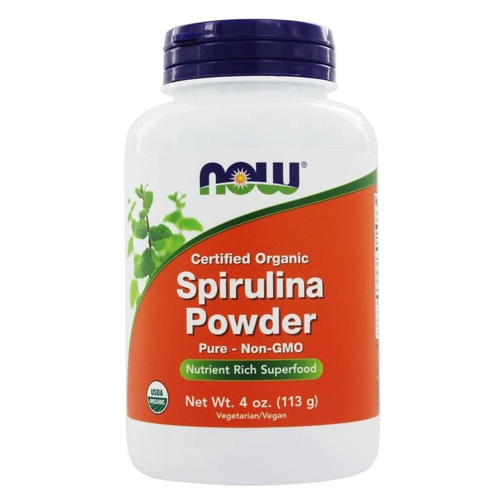 Now Foods Spirulina Pure Natural Powder - 4 oz