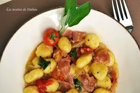sauge cuisine recettes recette de gnocchi de pomme de terre au jambon de parme et à la