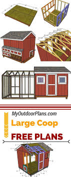 Best 25+ Large Chicken Coop Plans Ideas On Pinterest | Chicken ... T200 Chicken Coop Tractor Plans Free How Diy Backyard Ideas Design And L102 Coop Plans Free To Build A Chicken Large Planshow 10 Hens 13 Designs For Keeping 4 6 Chickens Runs Coops Yards And Farming Diy Best Made Pinterest Home Garden News S101 Small Pictures With Should I Paint Inside