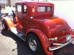 100 1932 Chevy Truck Chevy Street Rod Coupe Five Window All Steel Body Candy Orange