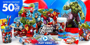 40th Birthday Decorations Nz by Avengers Party Supplies Avengers Birthday Party City