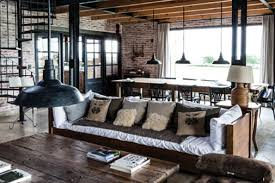 Interior Design Style Industrial Chic Home Decorating Industrial