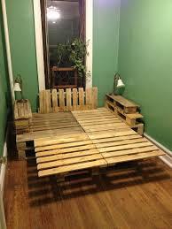 make platform bed wood pallets fine art painting gallery com