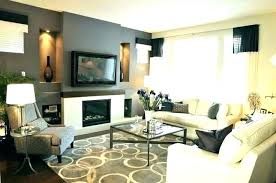 Interior Blue Accent Wall Transitional Living Room Throughout Walls Plan From Dark Gray Ideas And Grey Dining For Color Roo
