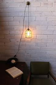 Plug In Light Switch Dining Room Pendant Cord Inline With Wall Pertaining To