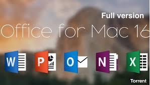 Mac fice 2016 Torrent Download Final Full version FREE  Mac