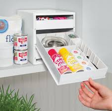 Free Standing Kitchen Cabinets Amazon by Amazon Com Youcopia Bakestack Organizer Baking Tools And