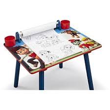 My Tjx Service Desk by Amazon Com Cool Delta Children Nick Jr Paw Patrol Art Desk