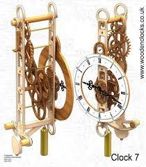 Free Scroll Saw Wooden Gear Clock Plans by 69 Best Clocks Images On Pinterest Wooden Gears Wooden Gear