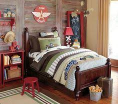 Cute Colorful Kids Bedrooms Collection From Pottery Barn Cool Classic Style Thomas Bed Set For Boys Bedroom Design
