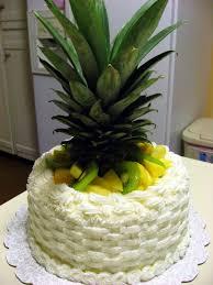 The Virtuous Wife Pina Colada Cake