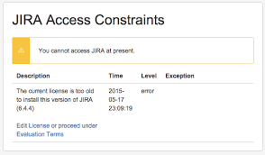 Jira Service Desk Upgrade Pricing by After Upgrading Jira Presented With Jira Access Constraints