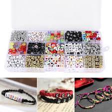 Amazoncom Magnolian 1100pcs Mixed Acrylic Plastic Alphabet Beads Irs Sample Letter 226j