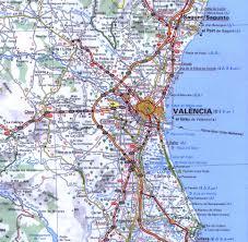 Castellon Valencia Mapa