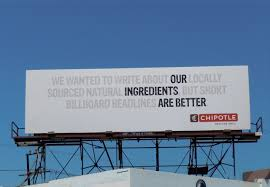Chipotle Halloween Special Mn by Chipotle Ingredients Are Better Billboard Marketing Advertisment