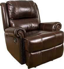 Awesome Brown Leather Chair Recliner Living Room Furniture Sofas