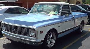 1972 Chevy Street Truck - YouTube