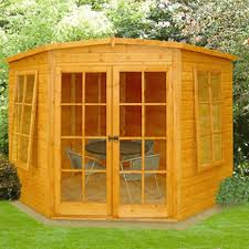 Argos 6 X 10 Shed by Honeywood Garden Buildings Hampton 7 X 7 Corner Summerhouse
