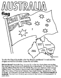 Australia Coloring Page
