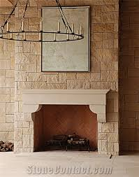 Buff Lueder Limestone Fireplace Mantel Beige Limestone Us