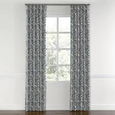 Kohls Triple Curtain Rods by Convertible Drapery Paisley Curtains Curtain Ring And Rod Pocket