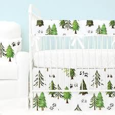 Woodland Creatures Nursery Bedding by Boy Crib Bedding Sets Caden Lane