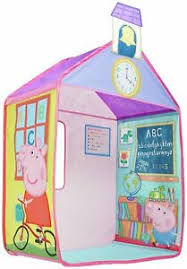details about peppa pig pop up school playhouse tent