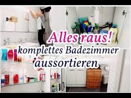 badezimmer aufräumen i aussortieren neu organisieren inadinemari