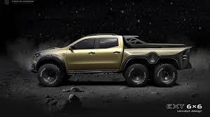 100 Mercedes 6 Wheel Truck Tuner Proposes Benz XClass X Pickup
