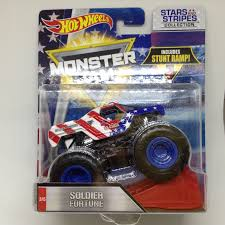 Julian's Hot Wheels Blog: Soldier Fortune Monster Jam Truck (2017 ...