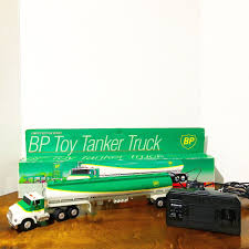 100 Toy Tanker Trucks BP Truck 1992 Vintage With Wired Remote Control New EBay