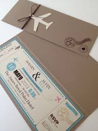 Boarding Pass Invitation Would Be Perfect For A Moving Party Or Destination Wedding