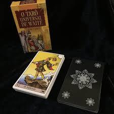 Tarot Universal De Waite Baralho Com 78 Cartas Saquinho