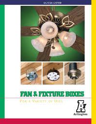 Ceiling Fan Joist Hangers by Arlington Fan U0026 Fixture Boxes