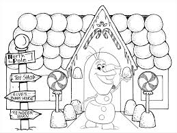 Frozen Christmas Coloring Pages Printable Disney Halloween Elsa Sven From Page