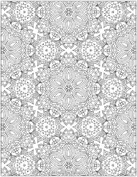 Free Abstract Patterns Coloring Page For Grown Ups