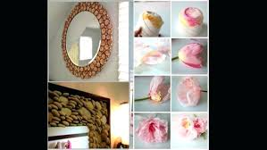 Simple Recycled Materials For Home Decor How To Make Decorative Items Using Waste Material Living Room