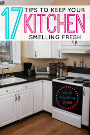 Kitchen Sink Smells Like Rotten Eggs by 17 Tips U0026 Tricks To Keep Your Kitchen Smelling Fresh What Mommy Does