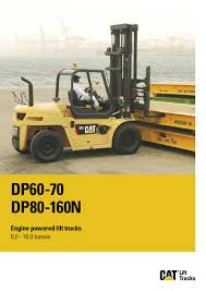 100 Cat Lift Trucks The DP60160N Lift Trucks Range By Issuu