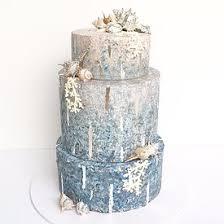 Coastal Chic Wedding Cake Perth