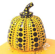 Yayoi Kusama Pumpkin Sculpture by Yayoi Kusama Pumpkin Yellow With Box Catawiki