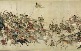 Medieval Imaging Japanese History Feudal Japan Paintings